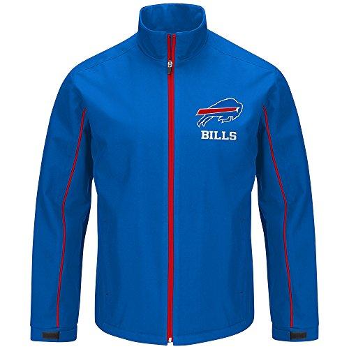 G-III Sports by Carl Banks Varsity Soft Shell Full Zip Jacket, LRG, Royal ()