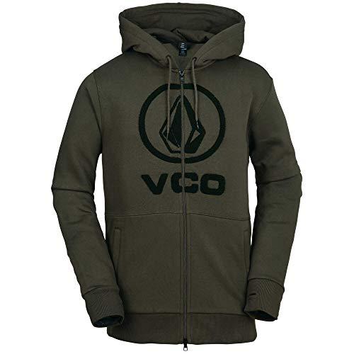 Volcom Men's Stone Terry Hooded Fleece Snow Sweatshirt