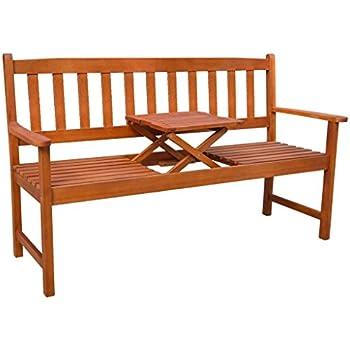 Amazon Com Vidaxl Acacia Wood Garden Bench With