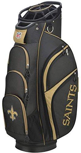 Wilson 2018 NFL Golf Cart Bag, New Orleans Saints