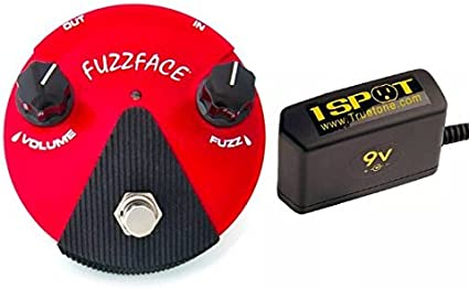 FREE ADAPTER Dunlop Germanium Fuzz Face Mini Red Guitar Effects Pedal FFM2