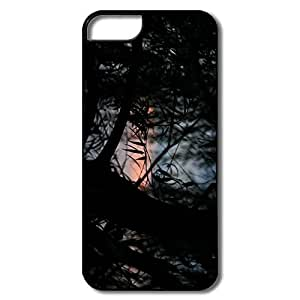 IPhone 5S Case, Willow Leaves White/black Cover For IPhone 5 BY icecream design