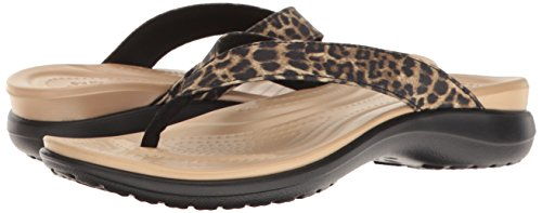 Pictures of Crocs Women's Capri V Graphic Flip Capri V Graphic W 4
