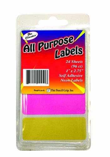 Pencil Classics Purpose Labels TPG 451