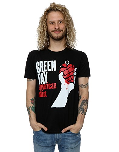 ican Idiot T-Shirt Large Black (Green Day Printed T-shirts)