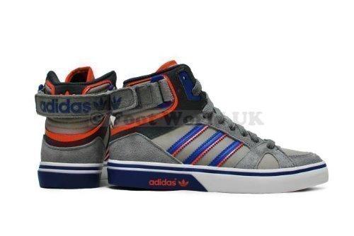 Adidas, Sneaker bambini Grey Blue Orange