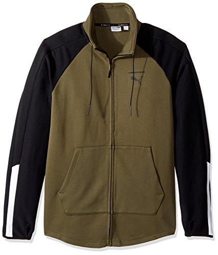 Olive Track Jacket - 4