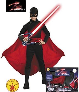 Disfraz Zorro Generación Z Niño Talla M: Amazon.es: Juguetes y juegos