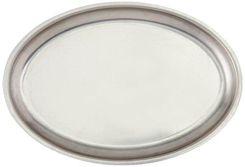 Steel Platter Sizzling Stainless (Winco SIZ-11 Stainless Steel Oval Sizzling Platter, 11-Inch)