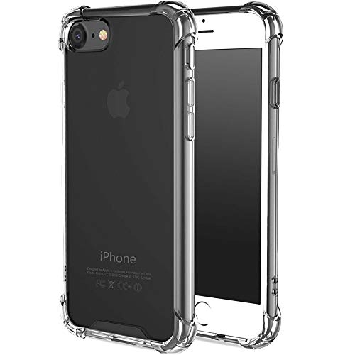 CaseHQ iPhone 6 Plus Case, iPhone 6s Plus Case,Crystal Clear