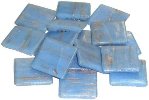 MosaixPro 20/x 20/x 4/mm 200/g 72/Goldline Glas Fliesen blau