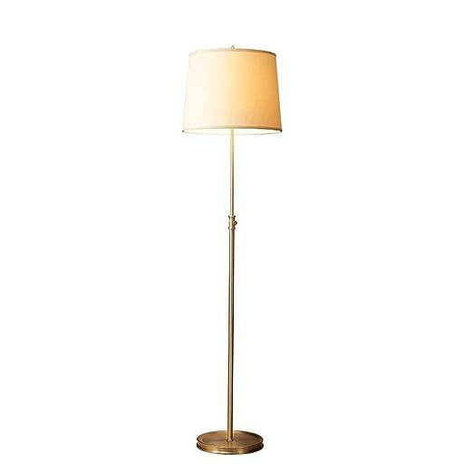 Lámparas de Pie Lámpara de Piso Luz de Pie Lámpara de pie de Cobre ...