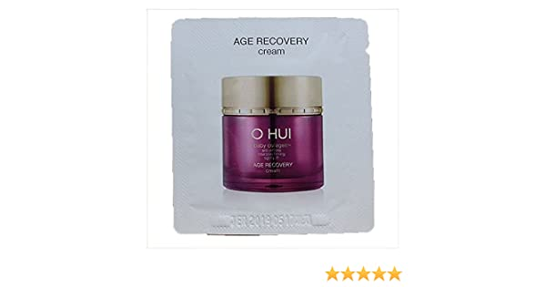 30pcs x Age Recovery Cream 1ml (Sample) By Ohui Amara Gel Full Face Mask with Headgear - Large