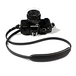 CANPIS Universal Handmade Leather Camera Shoulder Neck Strap with Shoulder Pad for Nikon Canon Sony Pentax Leica Olympus Fuji New Design