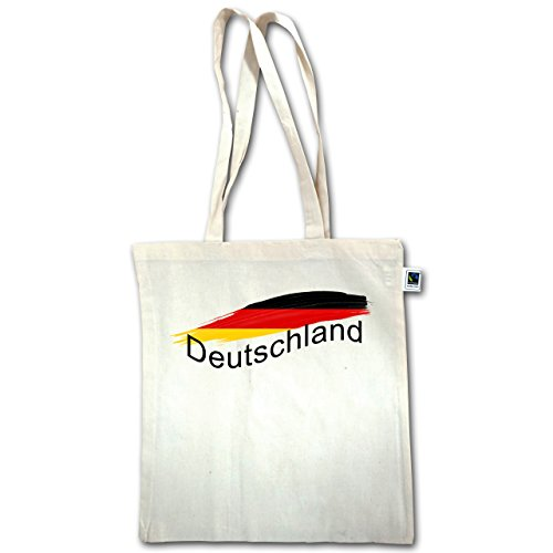 Paesi - Germania - Unisize - Natural - Xt600 - Manico Lungo In Juta Bag
