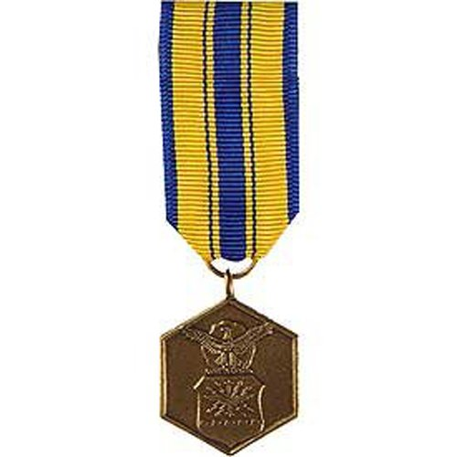United States Military Armed Forces Mini Medal - USAF Air Force - Commendation ()