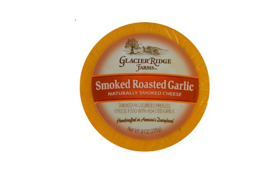 Garlic Farm - Glacier Ridge Farms Smoked Roasted Garlic Naturally Smoked Cheese