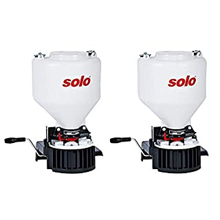 Solo 421 20-Pound Capacity Portable Chest-mount Spreader with Comfortable Cross-shoulder Strap (Pack of 2)