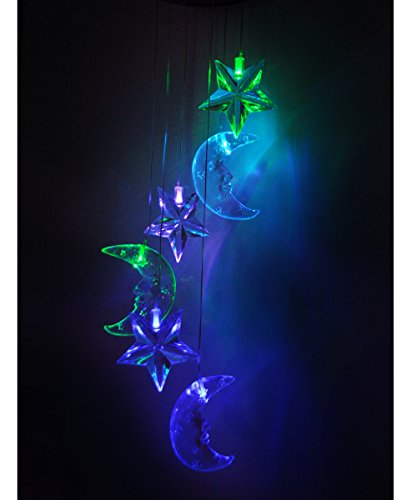 Sun And Moon Solar Garden Lights