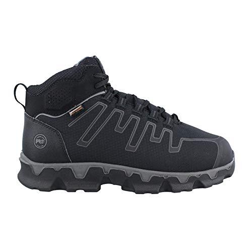 Timberland PRO Men's Powertrain Sport Internal Met Guard Alloy Toe Industrial & Construction Shoe, Black Synthetic, 10 W US (Timberland Pro Power Train)