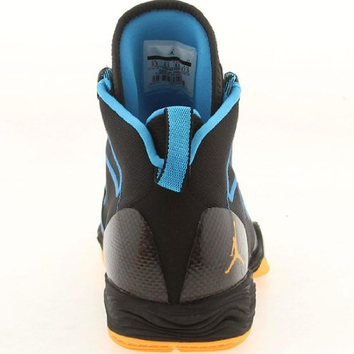 Canada Menns Luft Jordan Xx8 Og For Seg Basketballsko 036-svart / Atom Mango-dk Pwder Blå