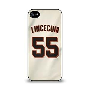 Tim Lincecum - San Francisco Giants Samsung Galaxy S4 Soft Rubber Case