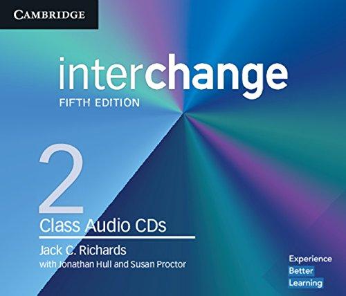Interchange Level 2 Class Audio CDs