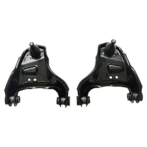 Titaniarm Both (2) Front Upper Driver & Passenger Side Control Arm and Ball Joint Assembly fit Chevy Blazer S10 4WD