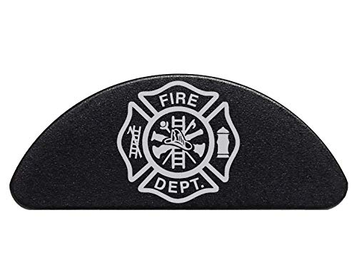 NDZ Performance FD Fire Department Maltese Engraved Aluminum Grip Frame Slug Plug for Glock 43 G43 ()