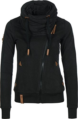 Naketano Female Zipped Jacket Jedi Path Black, L