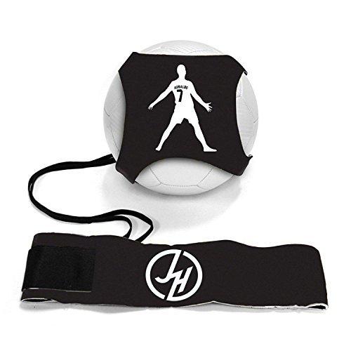 Adjustable Rebounder Soccer Ball (iSport Gifts Ronaldo #7 StarKick Solo Soccer Trainer Aid ✓ Adjustable Soccer Training Belt Rebounder ✓ Fits Soccer Ball Size 3, 4 & 5BALL NOT Included (StarKick Soccer Trainer, Ronaldo #7))