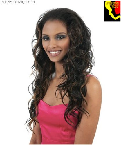 Motown Tress Half Wig Ponytail TIO 21 Color F2/33 ()