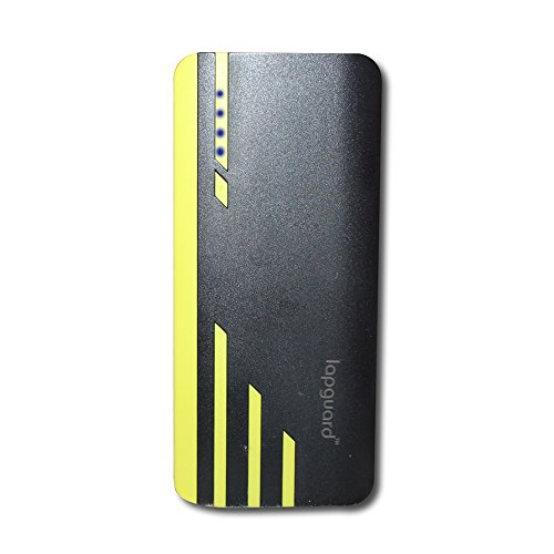 Lapguard 13000 mAh Lithium Ion Power Bank Sailing 1530  Black Yellow