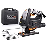 Electric Jigsaw, TACKLIFE Advanced 800W Jig Saw with Laser & LED, 3000...