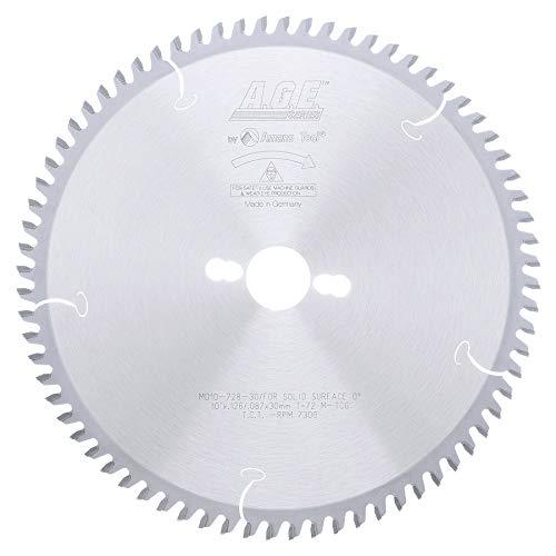 Disco Sierra AMANA Superficie sólida 10 x 72T 30mm eje (MD