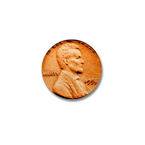 (CafePress 1955 Double Die Lincoln Cent 1