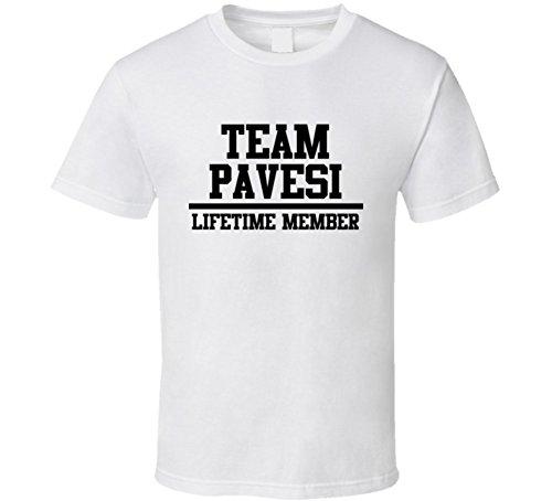 team-pavesi-lifetime-member-last-name-cool-t-shirt-l-white