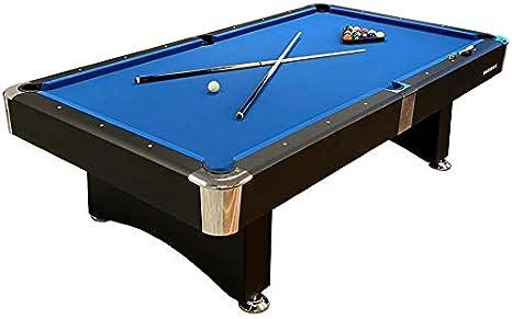 Buckshot Mesa de Billar 9ft Manhattan (282x155cm) - Billar Americano - Pool 9 ft - 150kg - Retorno de Bolos Automático - Accesorios Incluidos: Amazon.es: Deportes y aire libre