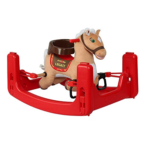 Brown Rocking Horse - Rockin' Rider Legacy Grow-with-Me Pony