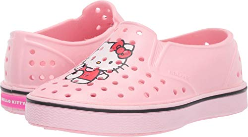 Native Kids Shoes Baby Girl's Miles Print (Toddler/Little Kid) Lantern Pink/Blossom Pink/Hello Kitty 5 M US Toddler