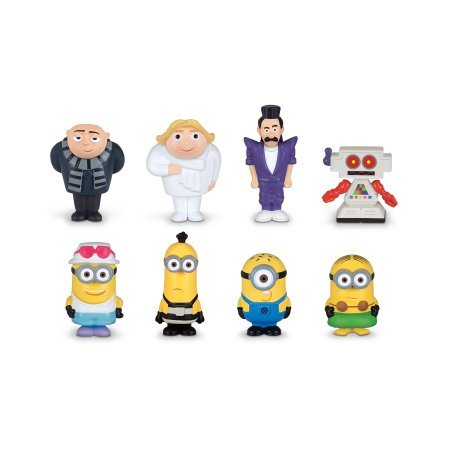 Despicable Me 3 Micro Figures 8 Piece Gift Set Collectible -