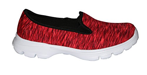 Price comparison product image Red Performance Women's Slip-On Walking Shoe-WK01-RD39