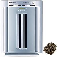 Plasmawave 5300 Winix Air Filter Purifier, Carbon True HEPA Cleaner (Complete Set) w/ Bonus: Premium Microfiber Cleaner Bundle