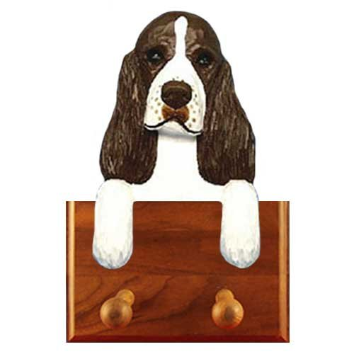 LIVER English Springer Spaniel Leash Holder (Holder Spaniel Leash Springer)