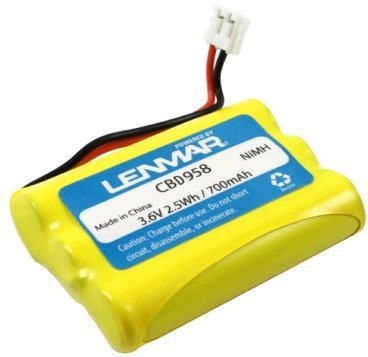 Lenmar CBD958 - REPLACEMENT BATTERY FOR GE CLT-2422, 3995...