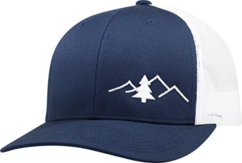 Lindo Trucker Hat - The Great Outdoors - Blue Linda