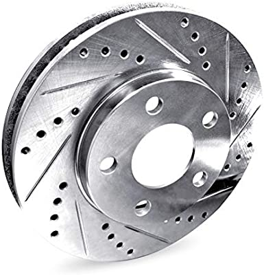 R1 Concepts KEOE11110 Eline Series Replacement Rotors And Ceramic Pads Kit Front