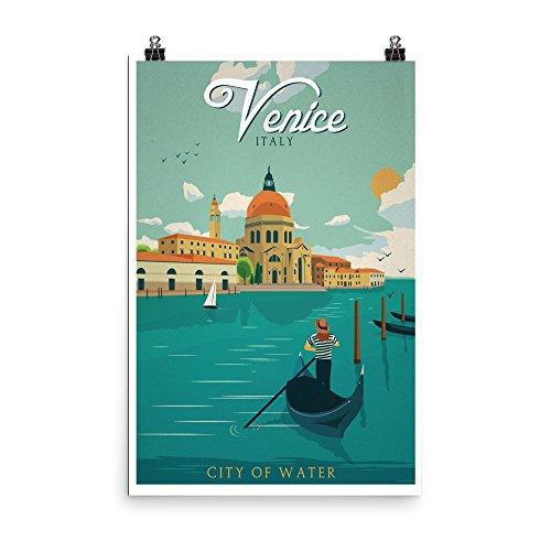 Vintage poster - Venice 1383 - Enhanced Matte Paper Poster