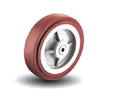 "Colson 4"" x 2"" Polyurethane Wheel and 1/2"" ID 5-4-929 Maroon / 600# Cap."
