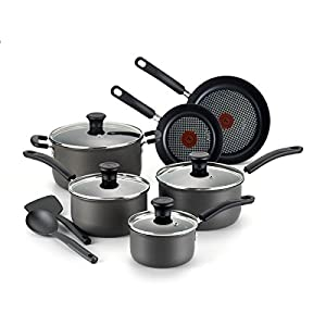 T-Fal 12-Piece Signature Hard Anodized Cookware Set